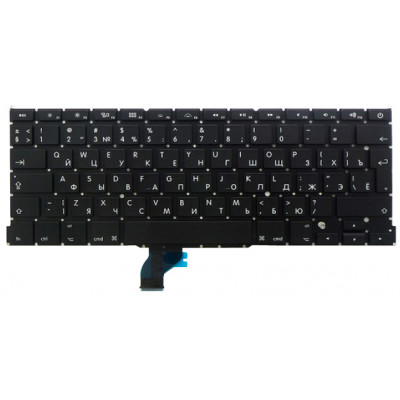 Клавиатура (US / Русская) для MacBook Pro 13 Retina (A1502 2013-2015)