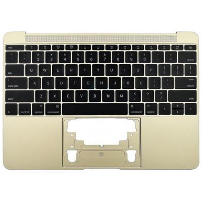Клавиатура (US) в сборе с корпусом (топкейс) для MacBook 12 Retina (A1534 2016)
