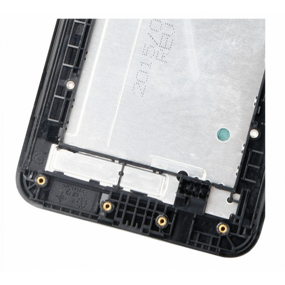 Средняя часть корпуса (рамка) для Asus Zenfone 2 (ZE551ML) черная