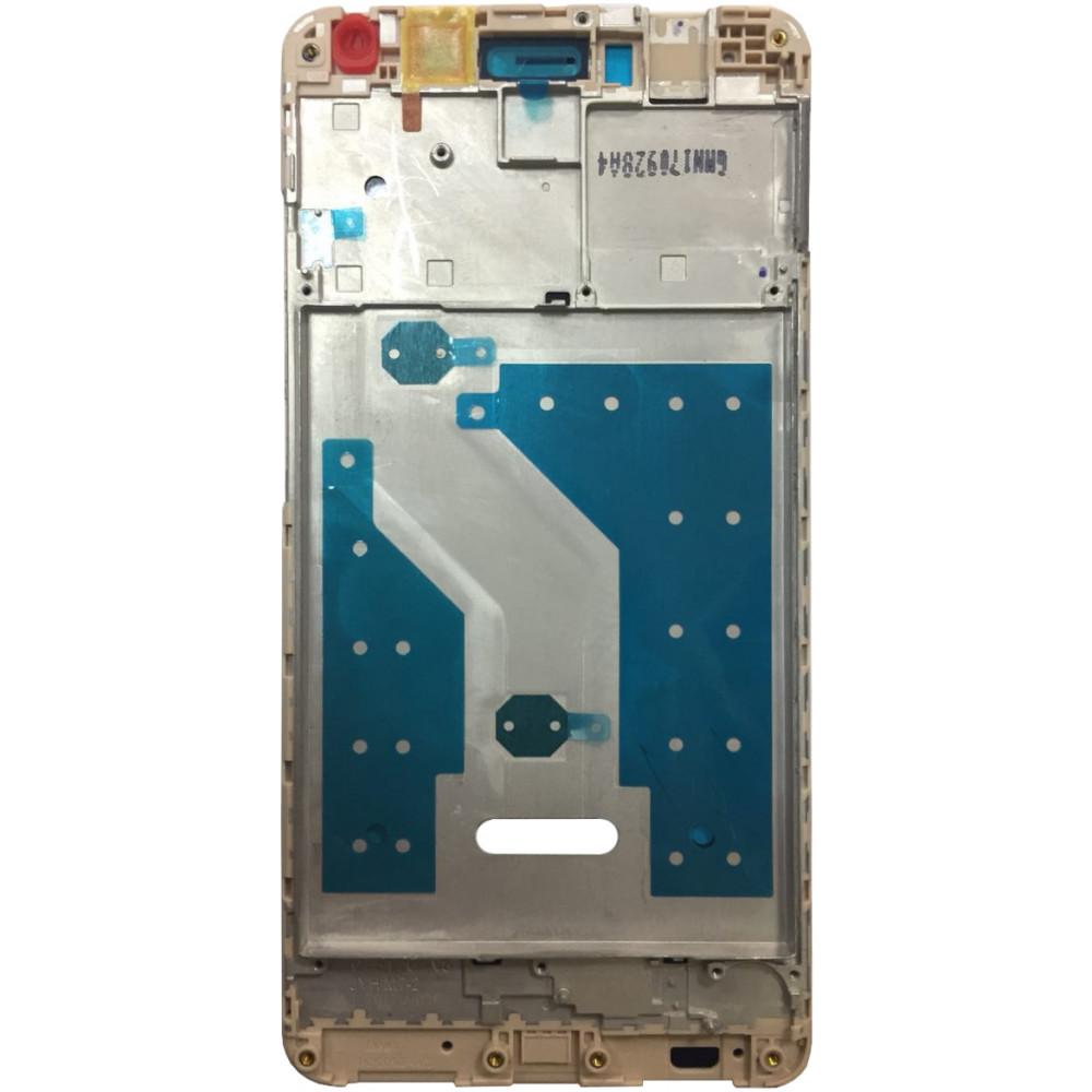 Средняя часть корпуса (рамка) для Huawei Enjoy 7 Plus/ Y7 Prime, золото