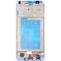 Средняя часть корпуса (рамка) для Huawei Honor 7X, белая