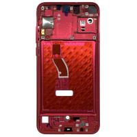Средняя часть корпуса (рамка) для Huawei Nova 4, розовая