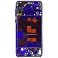 Средняя часть корпуса (рамка) для Huawei Nova 5 / 5 Pro, фиолетовая
