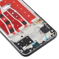 Средняя часть корпуса (рамка) для Huawei Nova 5i, черная
