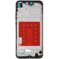 Средняя часть корпуса (рамка) для Huawei P20 Lite / Nova 3E, черная