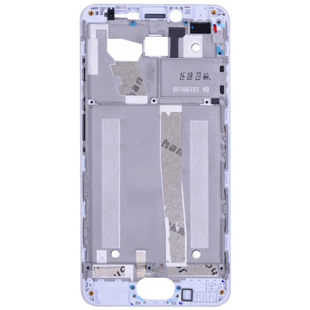 Средняя часть корпуса (рамка) для Meizu M3s Mini белая