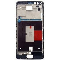 Средняя часть корпуса (рамка) для OnePlus 3/ 3T черная