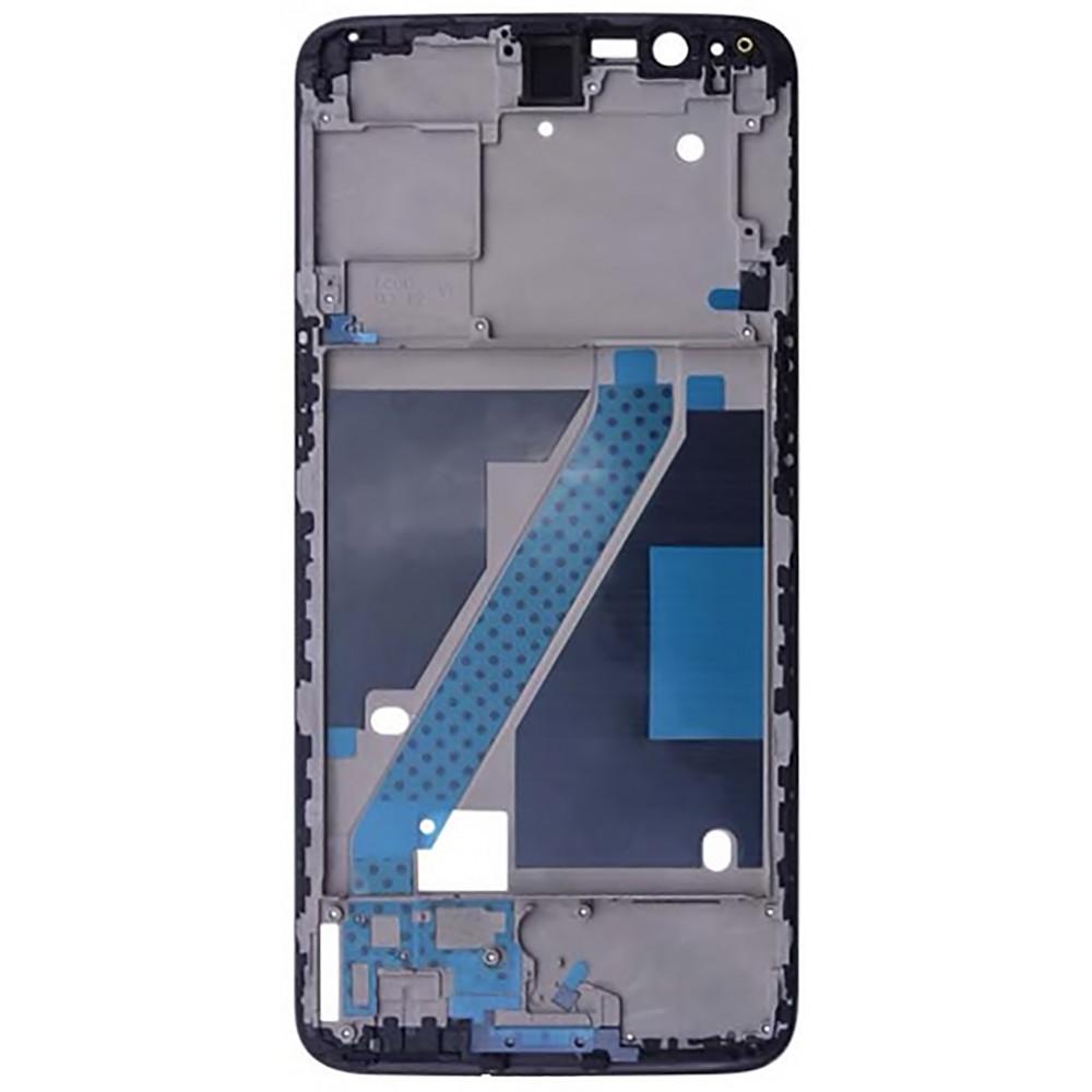 Средняя часть корпуса (рамка) для OnePlus 5T, черная