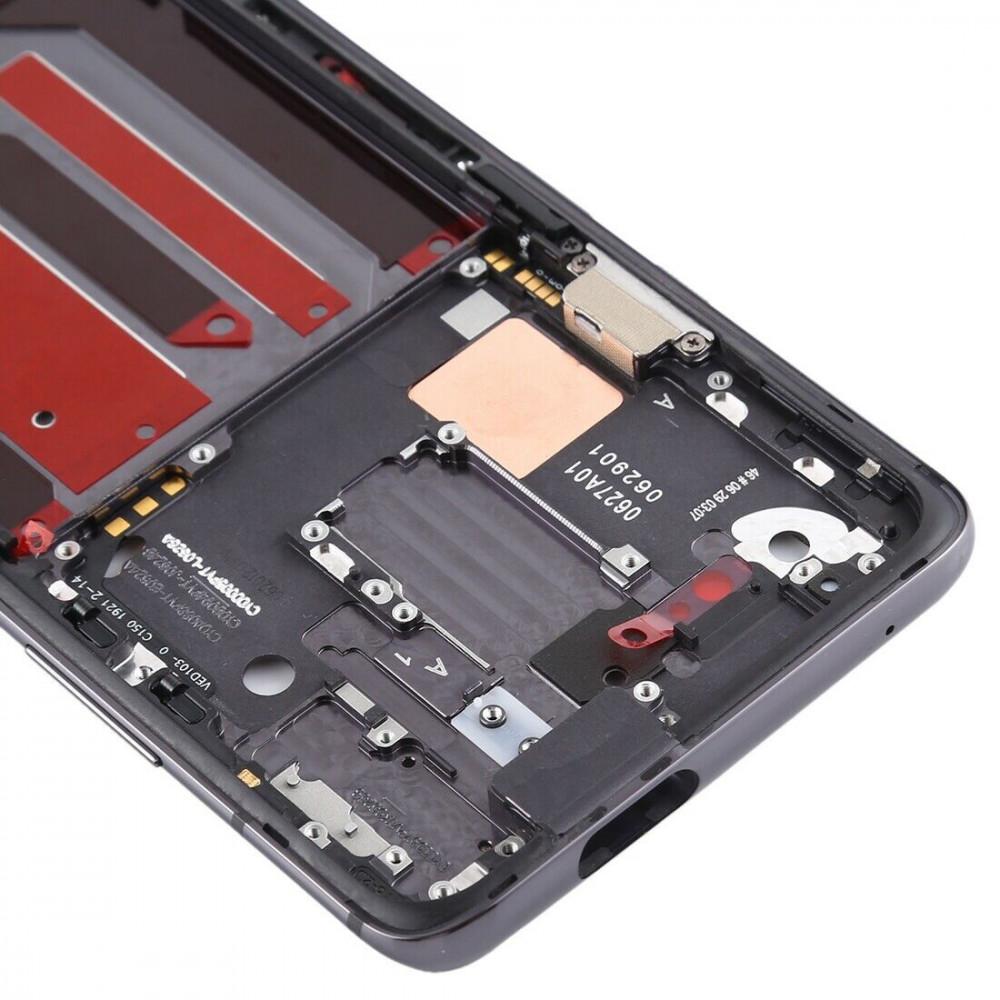 Средняя часть корпуса (рамка) для OnePlus 7 Pro, черная
