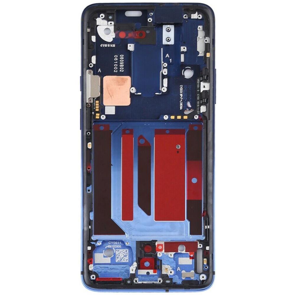 Средняя часть корпуса (рамка) для OnePlus 7 Pro, синяя