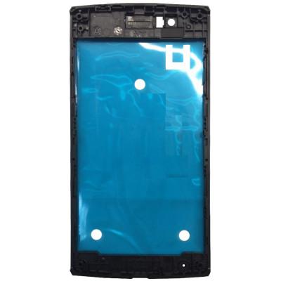 Средняя часть корпуса (рамка) для Philips Xenium S307 черная