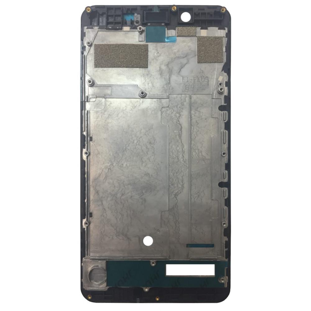 Средняя часть корпуса (рамка) для Philips Xenium S327 черная