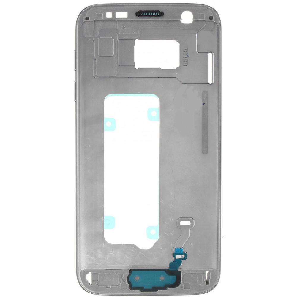 Средняя часть корпуса (рамка) для Samsung Galaxy S7 (G930) серая