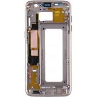 Средняя часть корпуса (рамка) для Samsung Galaxy S7 Edge золото