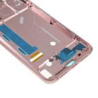 Средняя часть корпуса (рамка) для Xiaomi Mi8, розовое золото