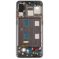 Средняя часть корпуса (рамка) для Xiaomi Mi9, черная