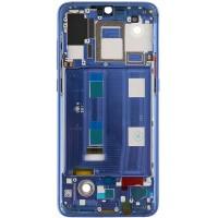 Средняя часть корпуса (рамка) для Xiaomi Mi9, синяя
