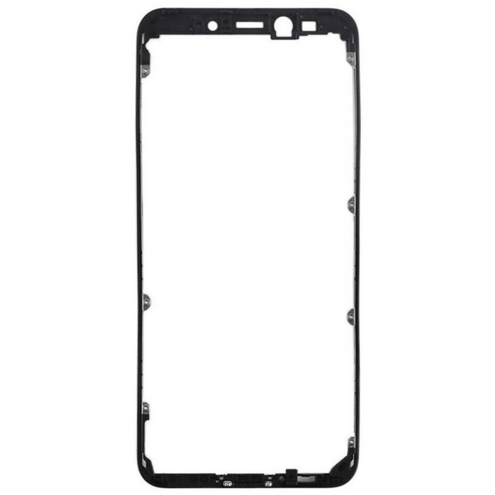 Средняя часть корпуса (рамка) для Xiaomi Mi A2 / Mi 6X, черная