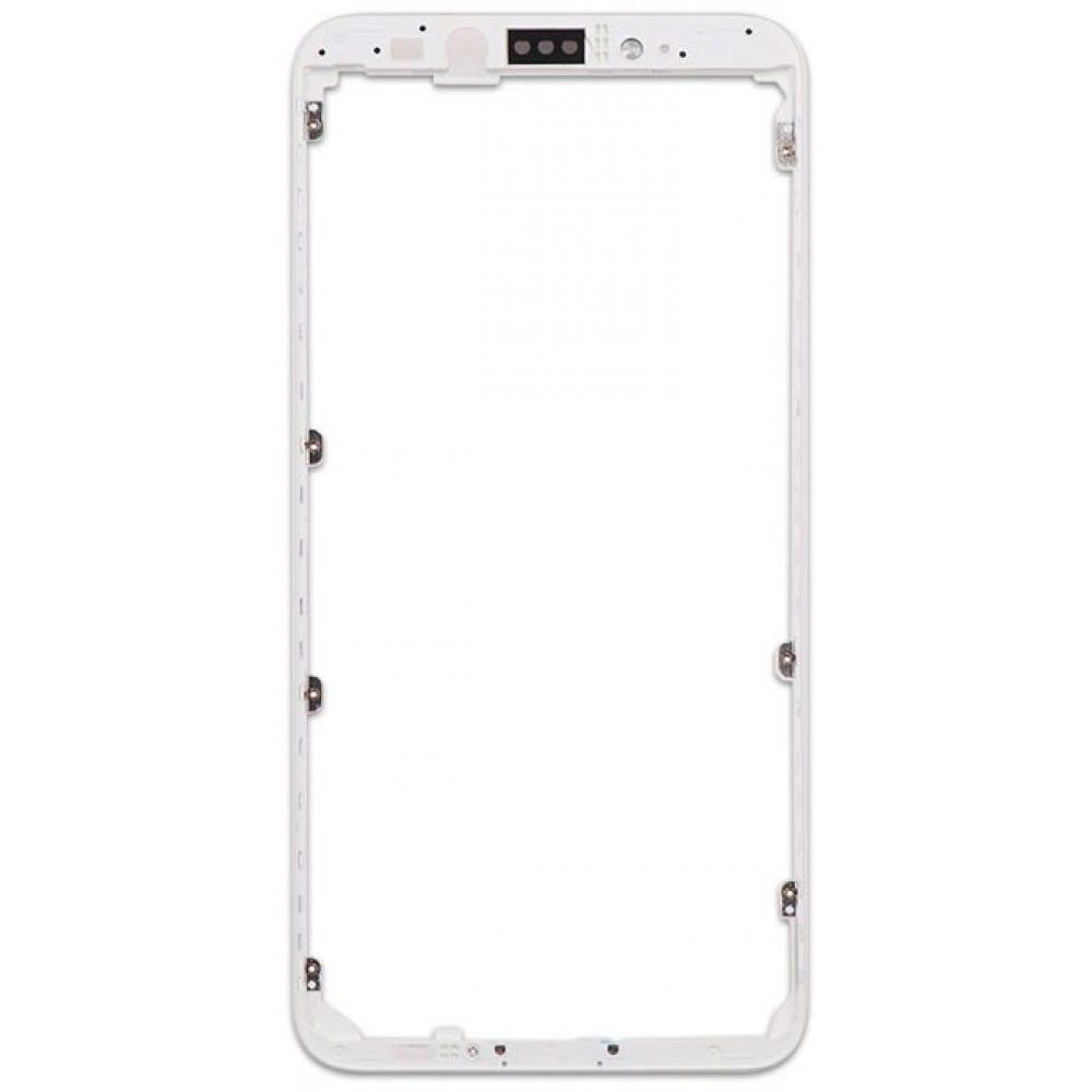 Средняя часть корпуса (рамка) для Xiaomi Mi A2 / Mi 6X, белая