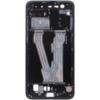 Средняя часть корпуса (рамка) для Xiaomi Mi Note 3, черная