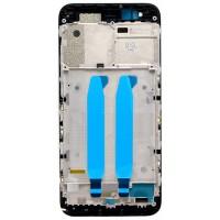 Средняя часть корпуса (рамка) для Xiaomi Mi5X / Mi A1, черная
