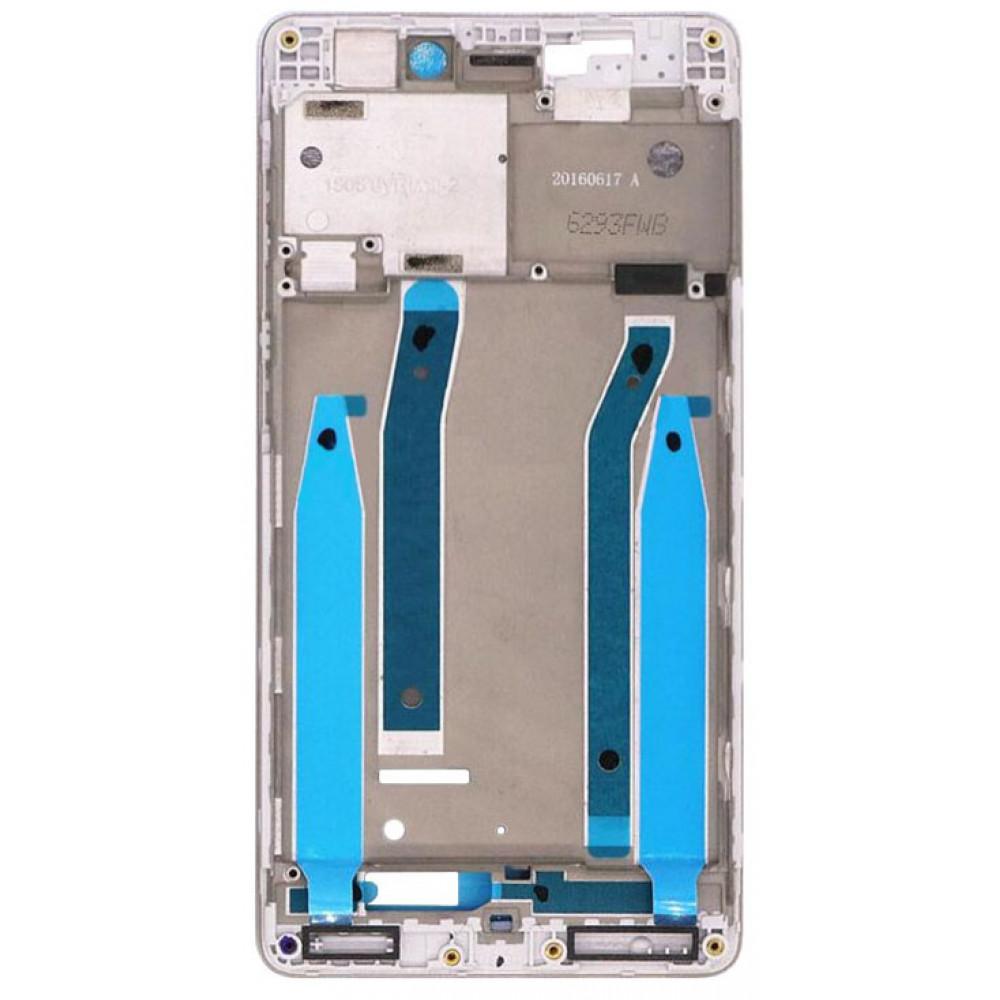 Средняя часть корпуса (рамка) для Xiaomi Redmi 3, белая