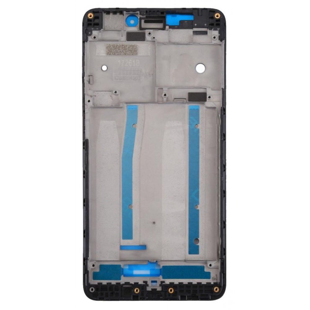 Средняя часть корпуса (рамка) для Xiaomi Redmi 4A, черная
