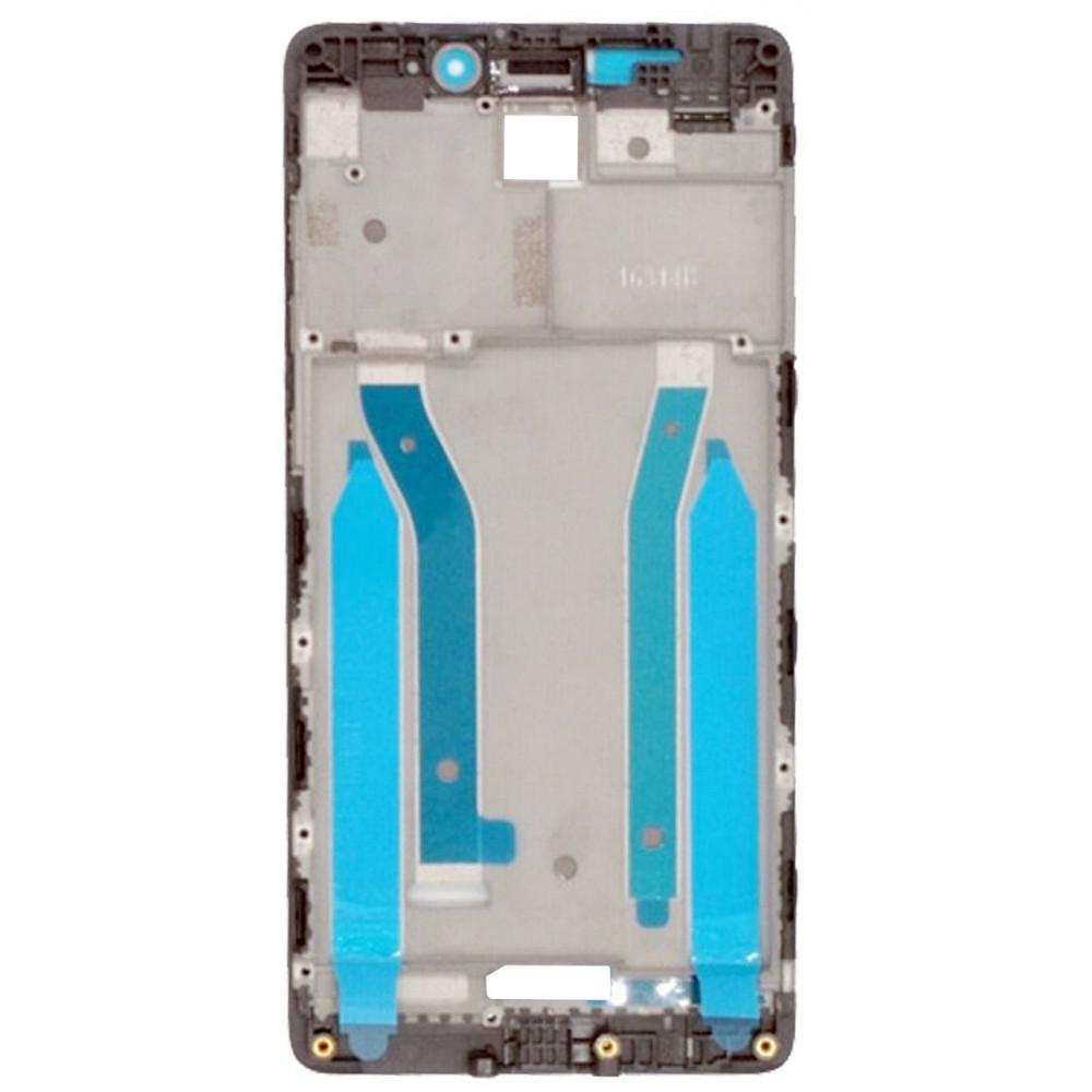 Средняя часть корпуса (рамка) для Xiaomi Redmi 4 Pro, черная