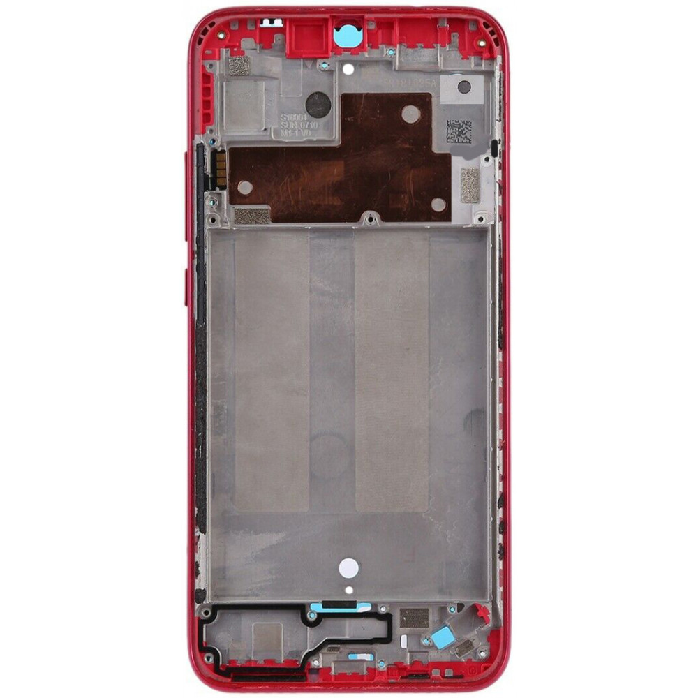 Средняя часть корпуса (рамка) для Xiaomi Redmi 7 (Standard Edition), красная