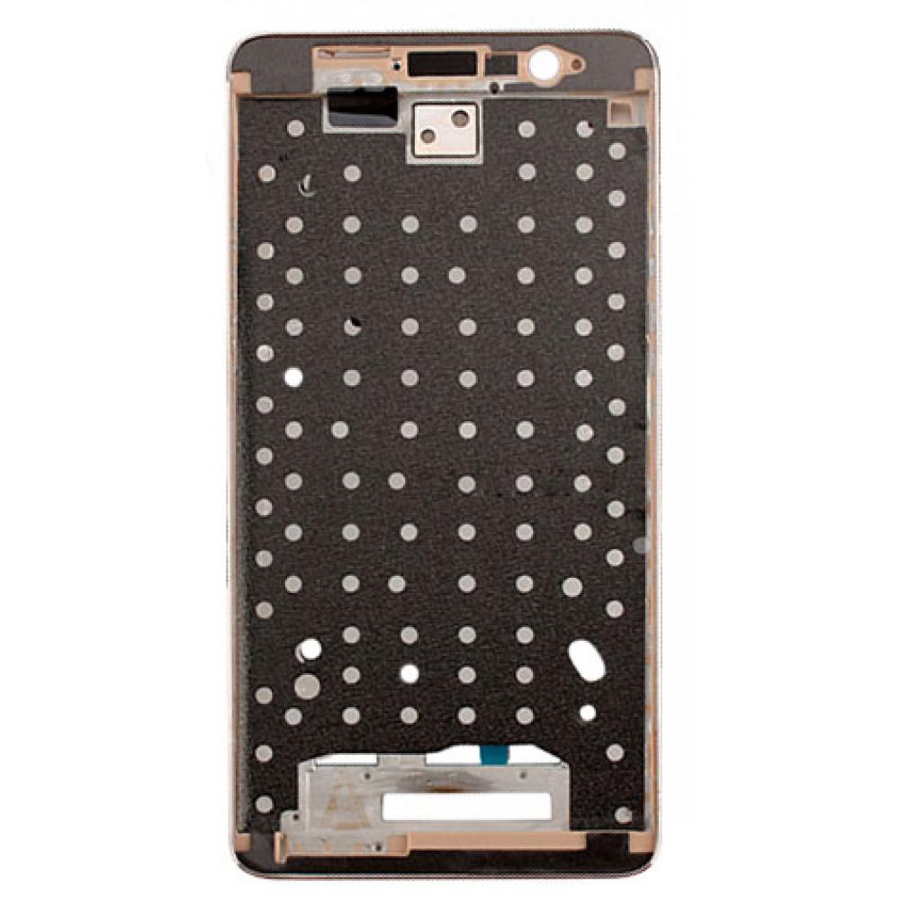 Средняя часть корпуса (рамка) для Xiaomi Redmi Note 3 Pro, золотая