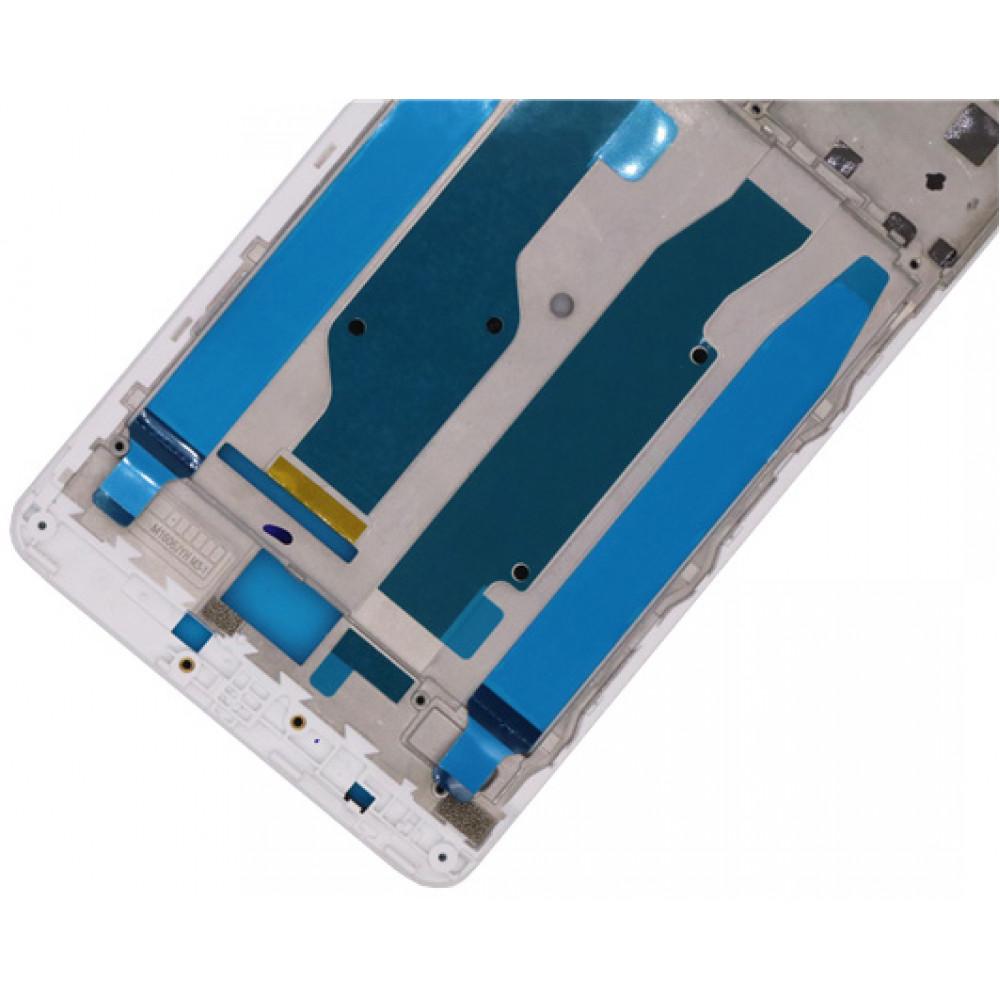 Средняя часть корпуса (рамка) для Xiaomi Redmi Note 4X, белая