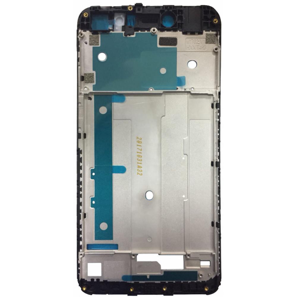 Средняя часть корпуса (рамка) для Xiaomi Redmi Note 5A, черная