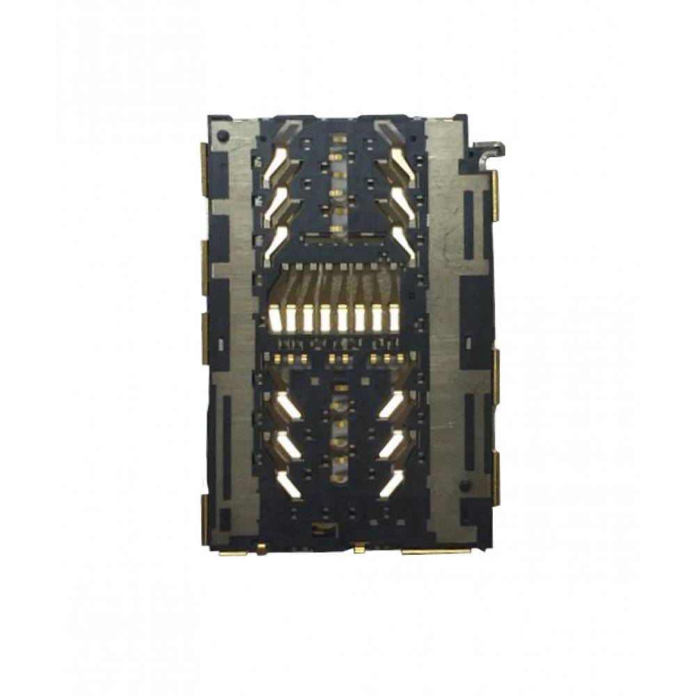 Коннектор Sim карты (считыватель) для Huawei Honor 5C / 6X