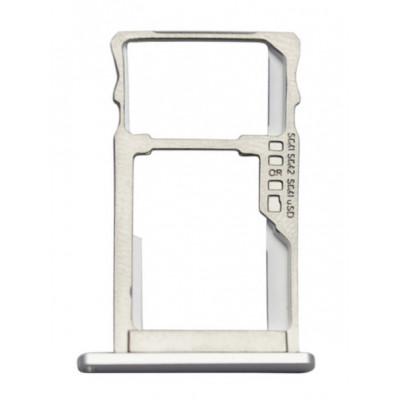 Sim лоток для Meizu M5 Note, серебро