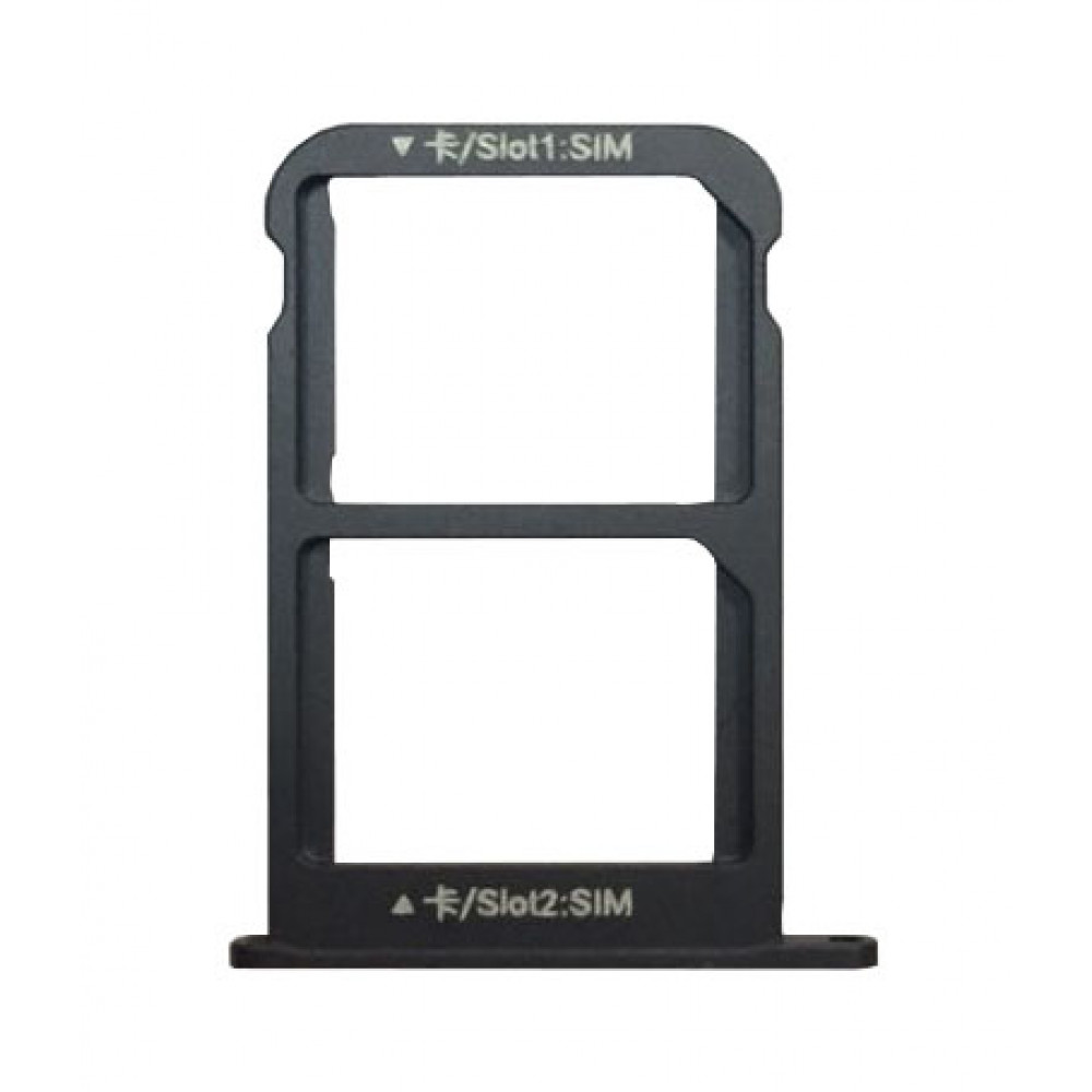 Sim лоток для Meizu Pro 7 Plus, черный