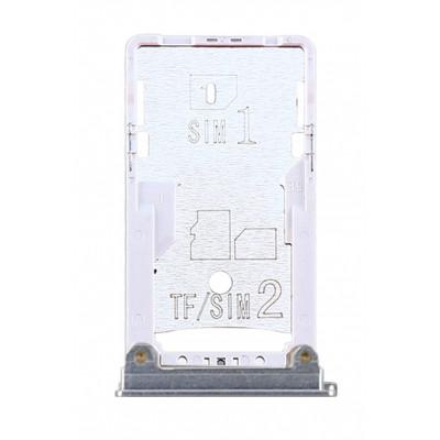 Sim лоток для Xiaomi Mi Max 2, серебро