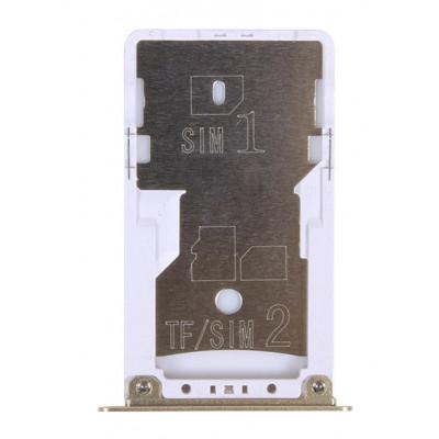 Sim лоток для Xiaomi Redmi Note 4X, золото