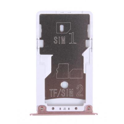 Sim лоток для Xiaomi Redmi Note 4X, розовый