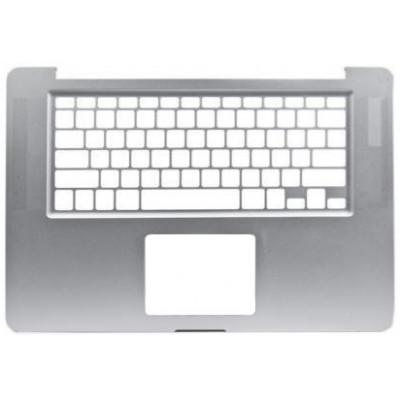 Корпус клавиатуры (топкейс) для MacBook Pro 15 (A1398 2013-2015), серебро