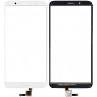 Сенсорное стекло (тачскрин) для Huawei Honor 7C, белое
