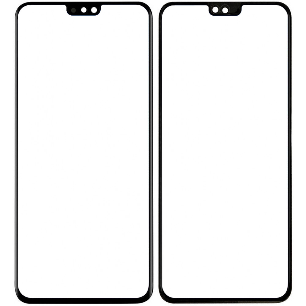 Сенсорное стекло (тачскрин) для Huawei Honor 8X, черное