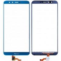 Сенсорное стекло (тачскрин) для Huawei Honor 9 Lite, синее