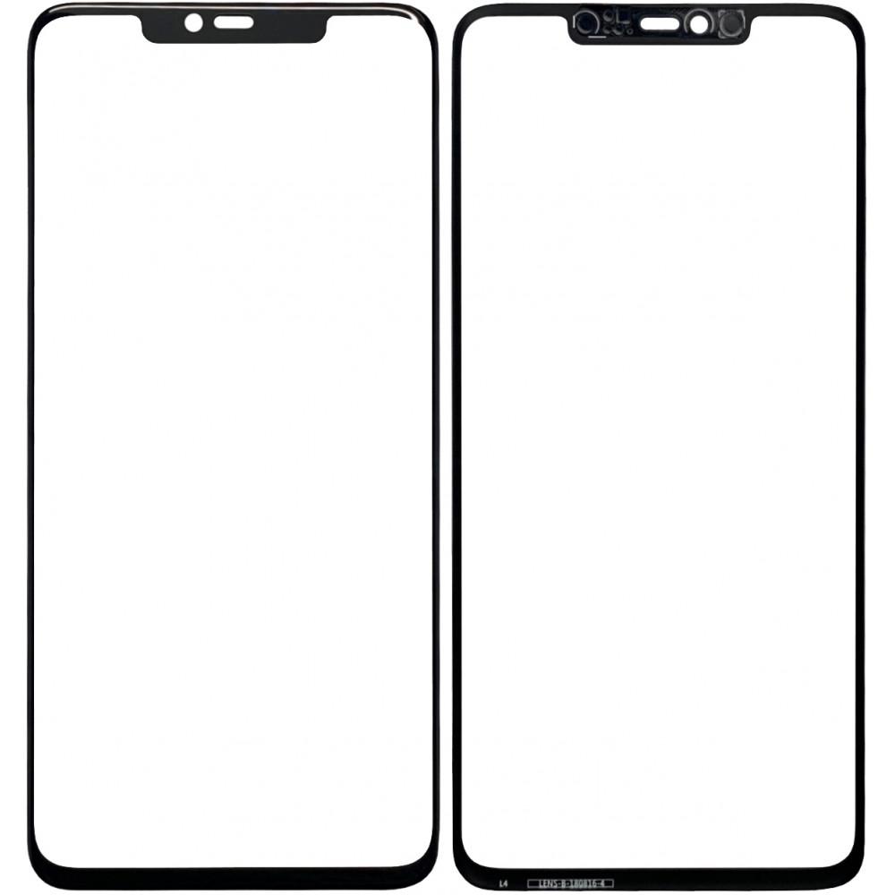 Сенсорное стекло (тачскрин) для Huawei Mate 20 Pro, черное