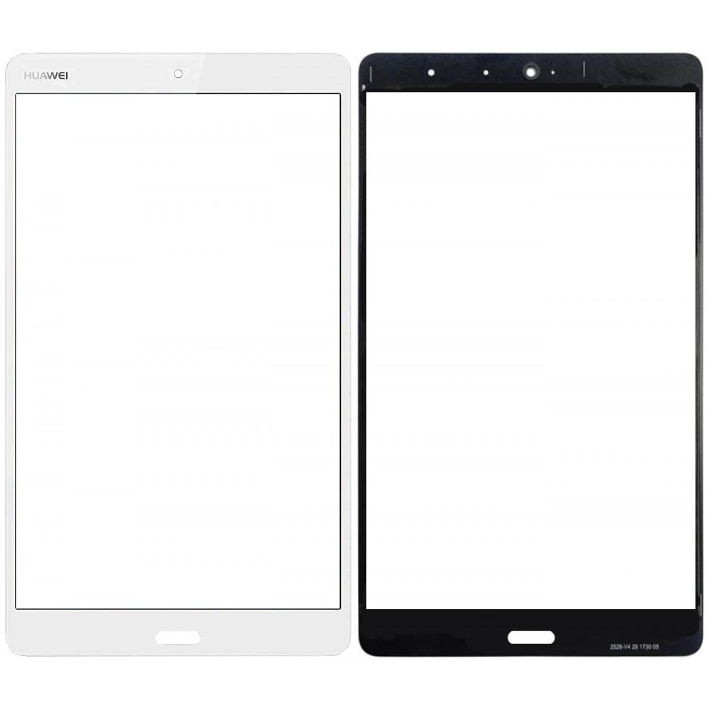 Сенсорное стекло (тачскрин) для Huawei MediaPad M3 Lite 8.0, белое
