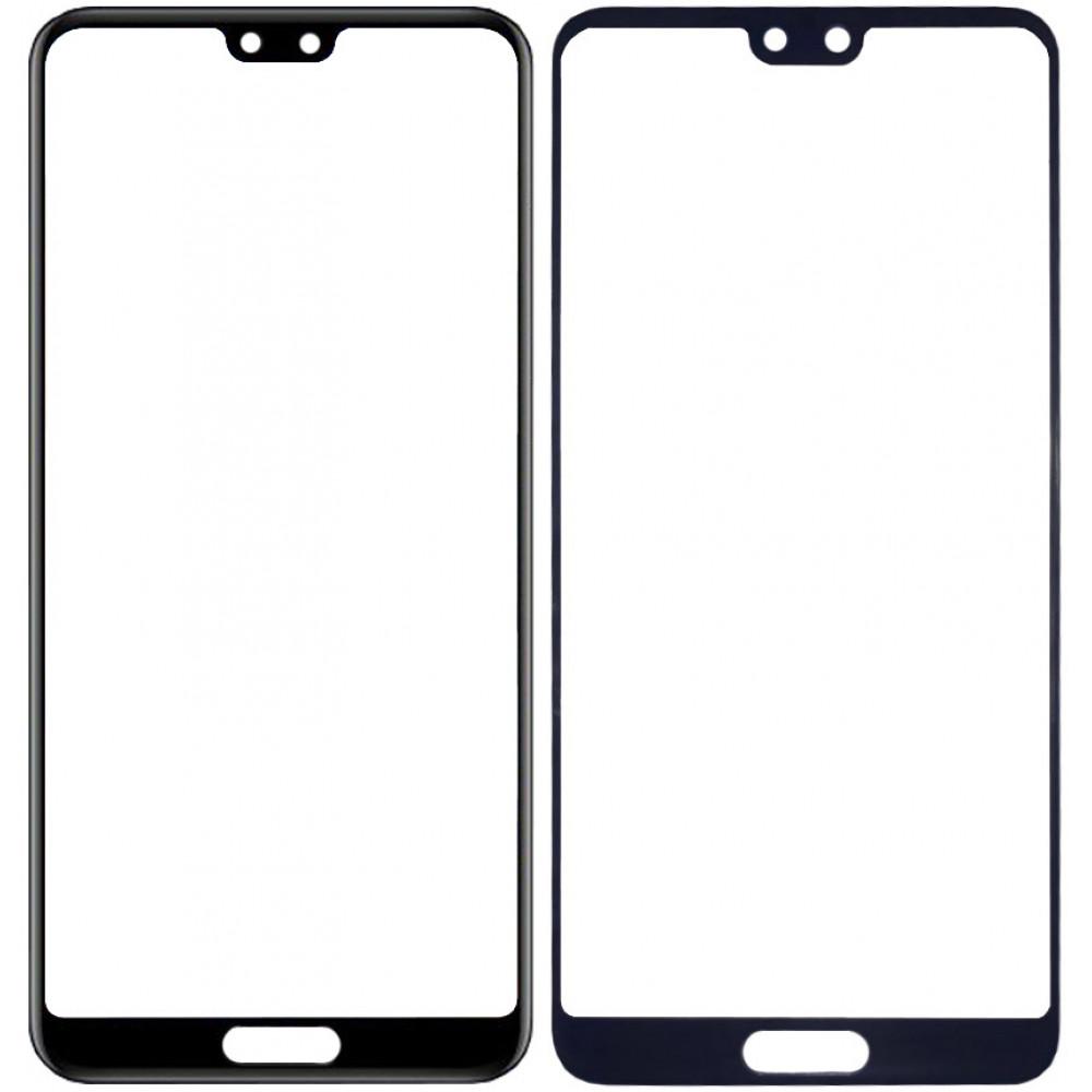 Сенсорное стекло (тачскрин) для Huawei P20 Pro, черное