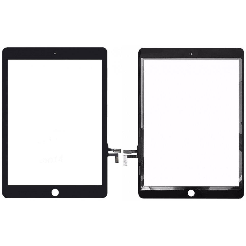 Сенсорное стекло (тачскрин) для iPad 2017 / iPad 5, черное