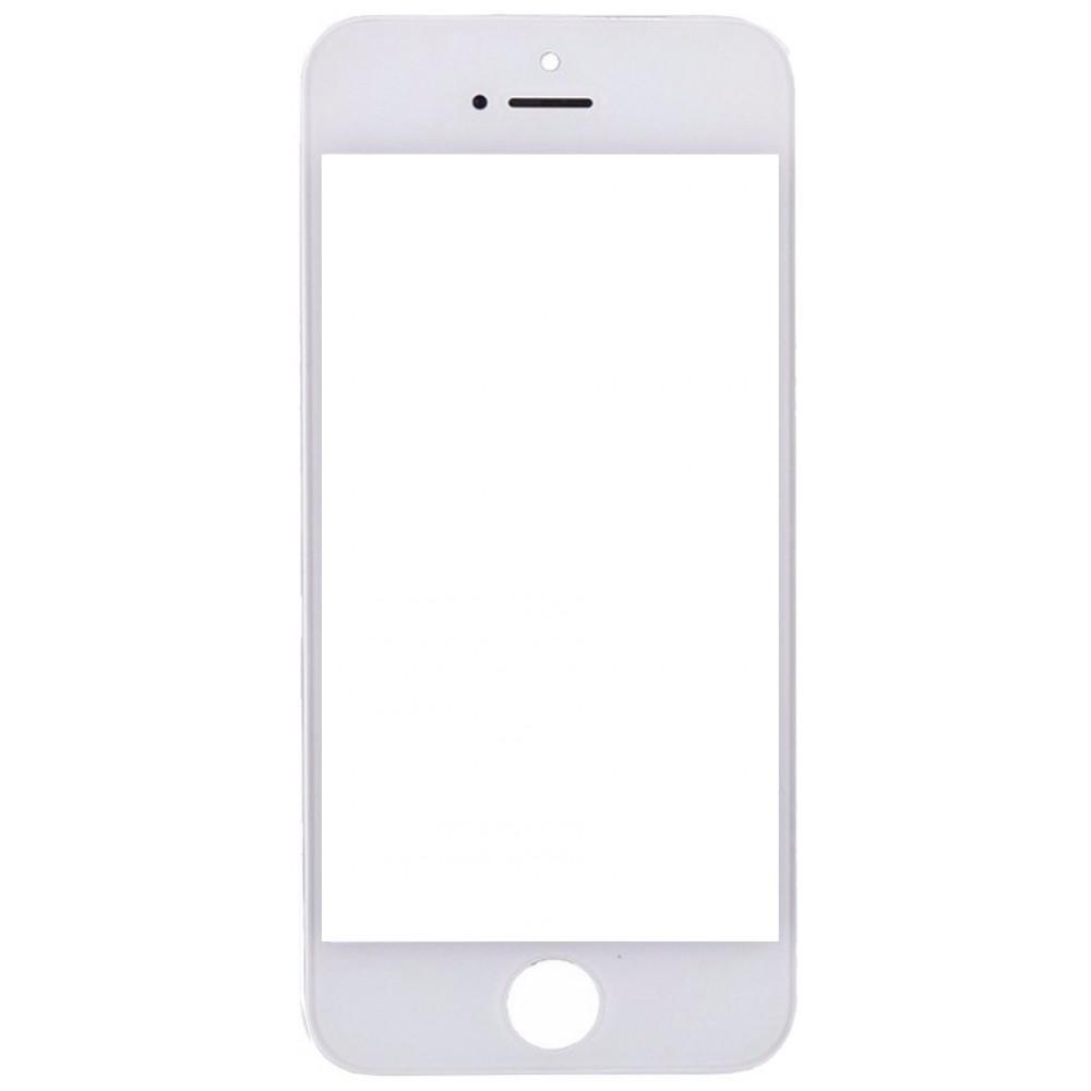 Стекло дисплея с рамкой для iPhone 5 белое