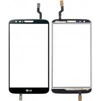 Сенсорное стекло (тачскрин) для LG G2, черное