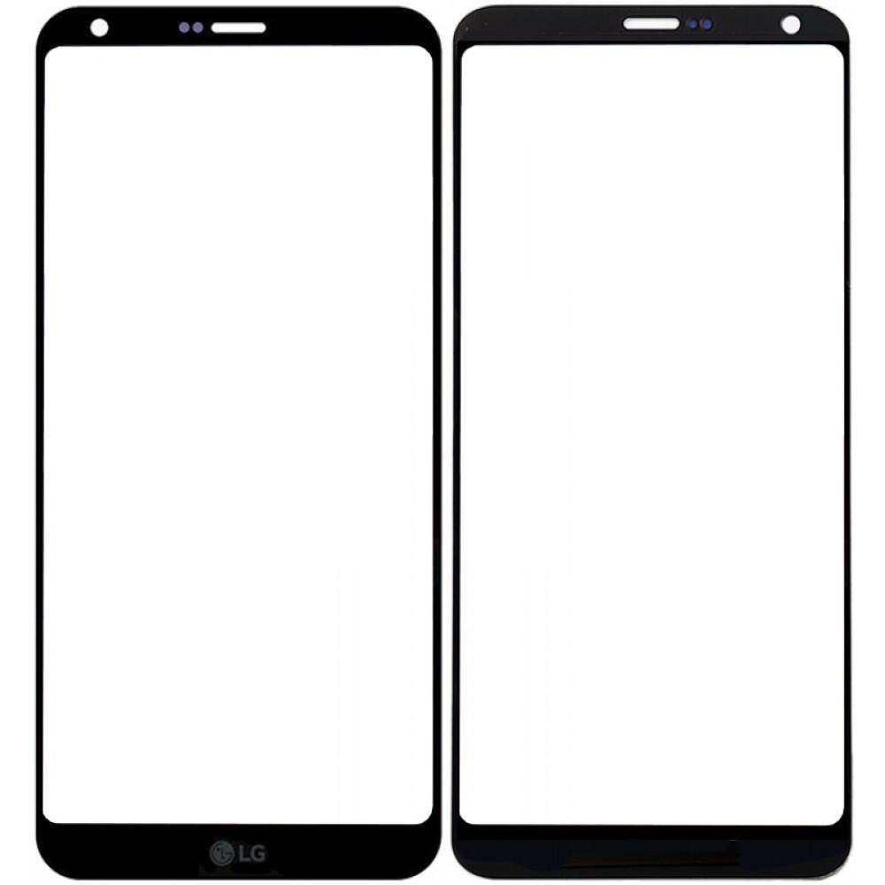 Сенсорное стекло (тачскрин) для LG G6, черное