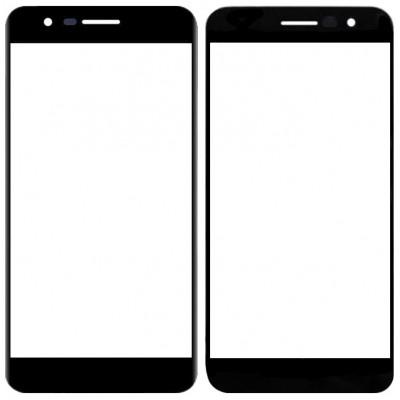 Сенсорное стекло (тачскрин) для LG K10 (2018), черное